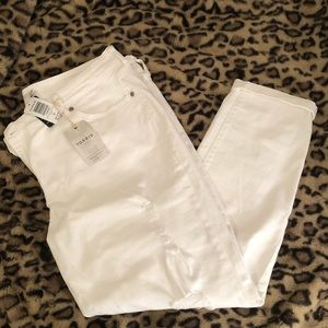 Torrid White Distressed Denim Jeans NEW WITH TAGS